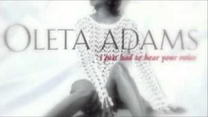 Oleta Adams - I Just Had To Hear Your Voice